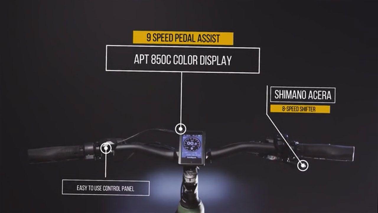 Электрический велосипед R750
