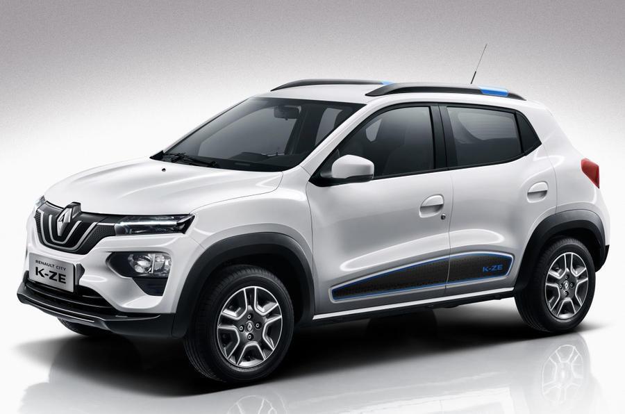 Renault City K-ZE, который уже продается в Китае: цена от $8700, 270 км хода, мощность 44 силы, скорость 105 км/ч
