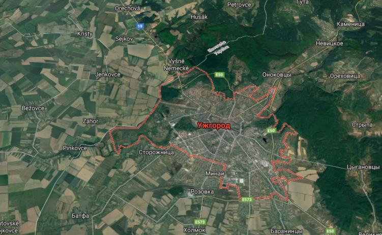 Преступление произошло в Ужгороде