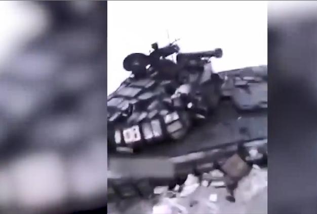 Під Дебальцевим ЗСУ зуміли знищити танки окупантів