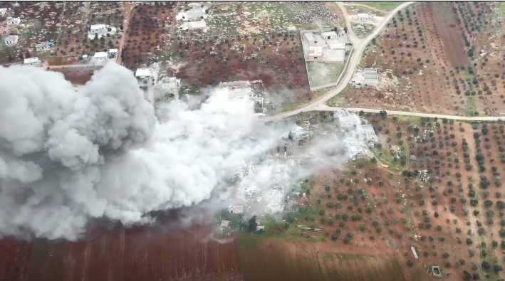 В Сирии разгромили российскую базу: момент попал на видео