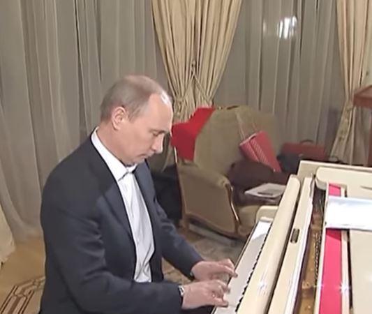 У мережу потрапили кадри з особистого архіву Путіна