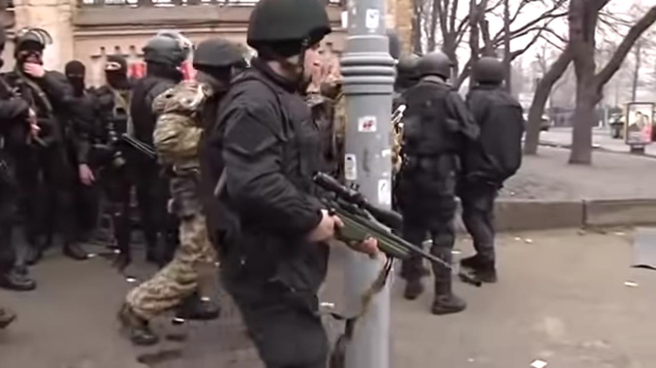 Снайпери на Майдані