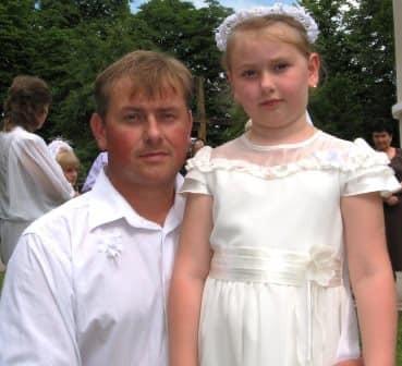 Ірина Дідич з татом