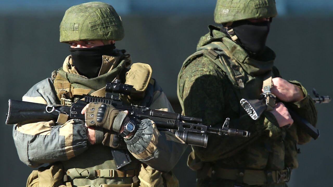 Російські війська в Криму