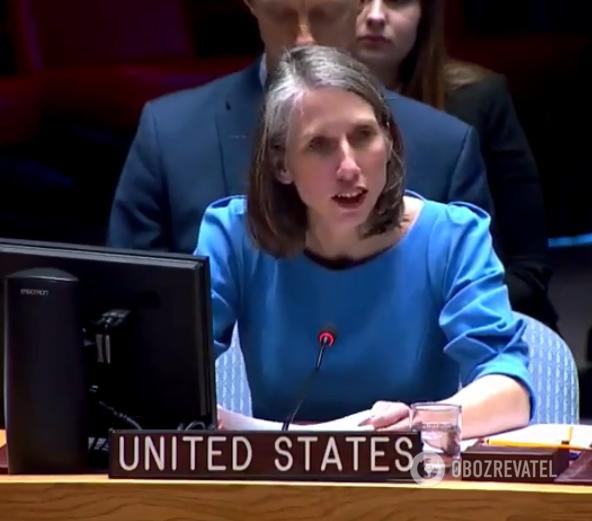 Представниця США в Радбезі ООН