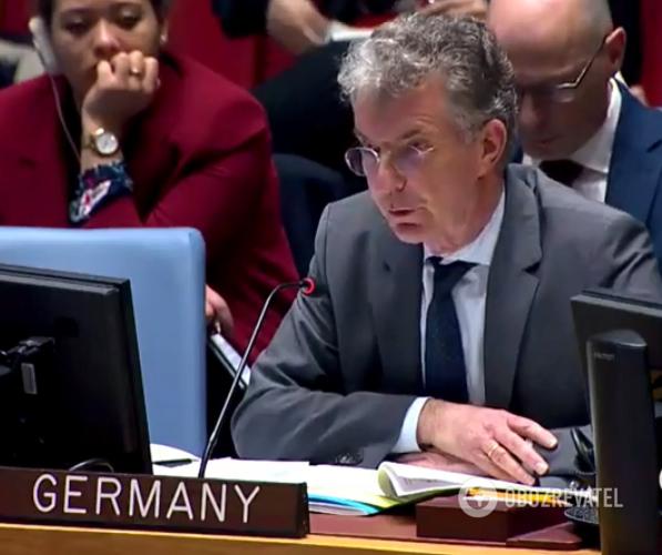 Представник Німеччини в Радбезі ООН