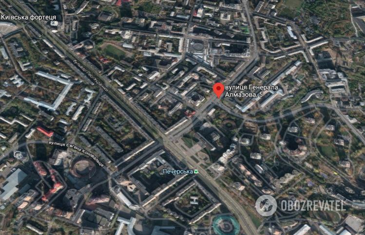 Прорыв теплотрассы в Киеве