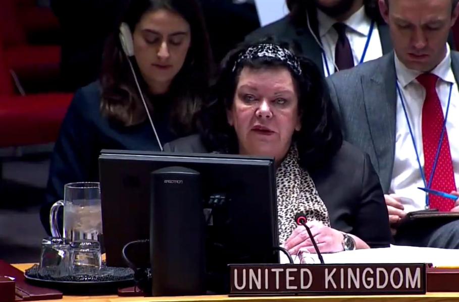 Представниця Британії в Радбезі ООН