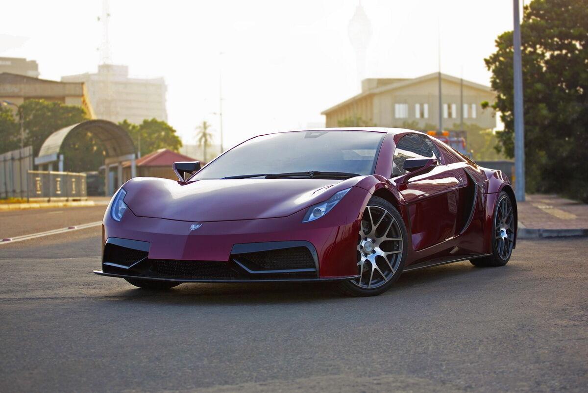 Чувствуется, что создатели Vega EVX вдохновлялись дизайном Ferrari