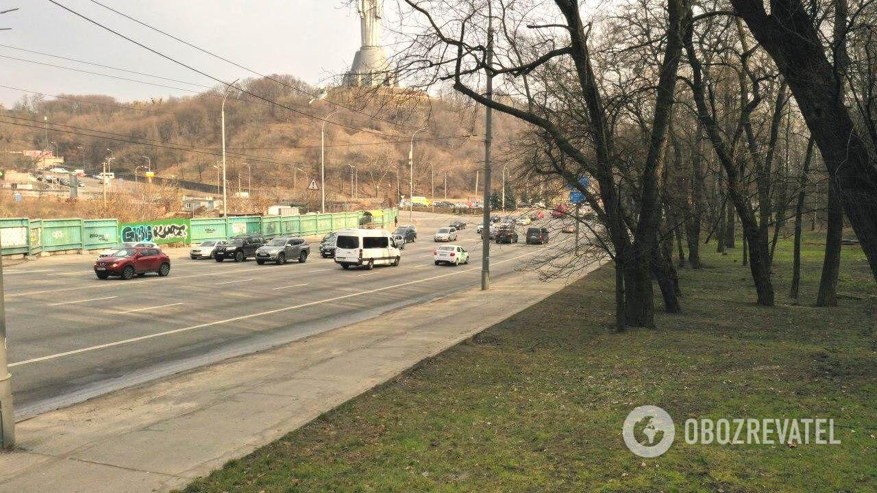 Участок бульвара Дружбы Народов, где часто происходят ДТП