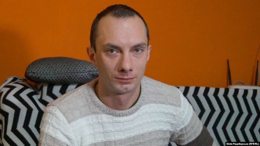 Ветеран АТО Антон Монахов