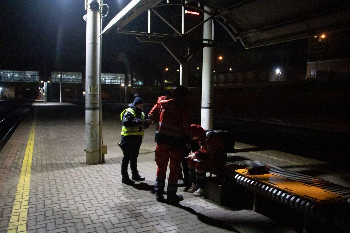 Тело увидел машинист одного из поездов