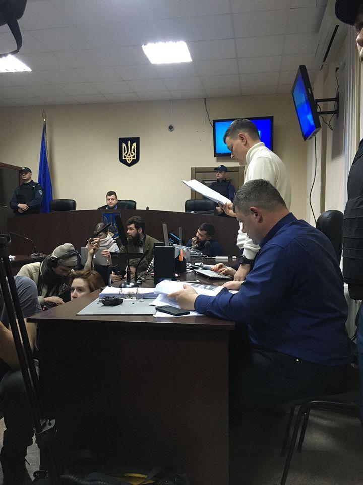 Суд обирає запобіжний захід Володимиру Косенку
