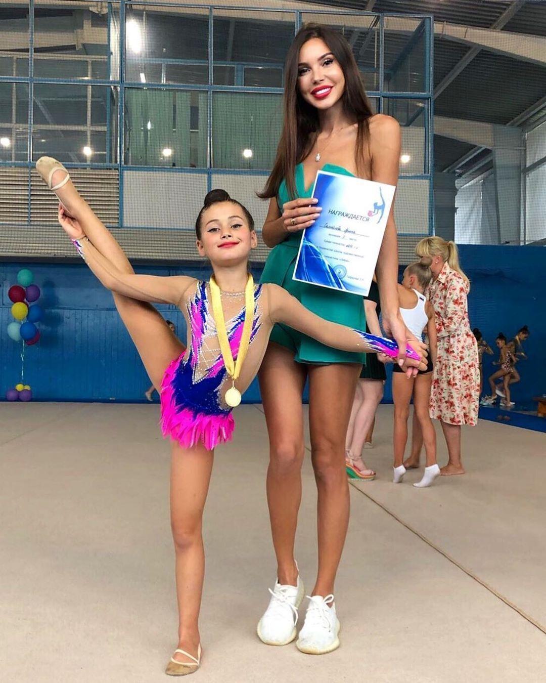 Самойлова с дочерью Ариелой