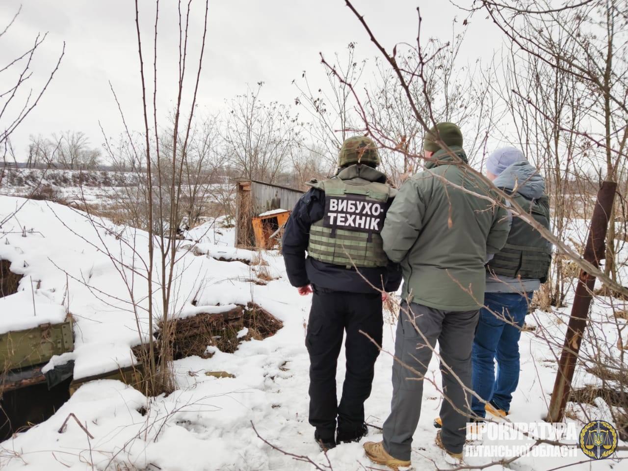 На Донбассе обнаружили российские боеприпасы