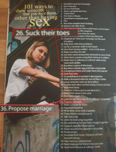 Способы показать человеку, что ты его любишь, не занимаясь с ней сексом