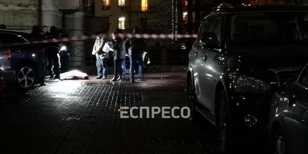 З'явилося відео моменту вбивства лікаря в Києві