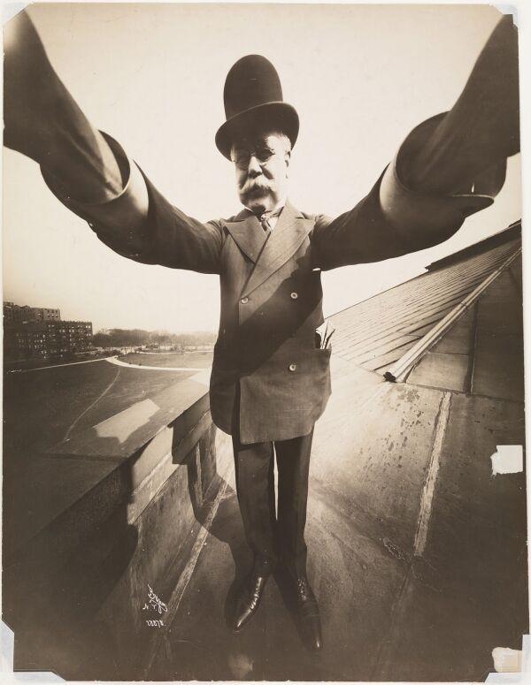 Селфи Байрона, 1909 год