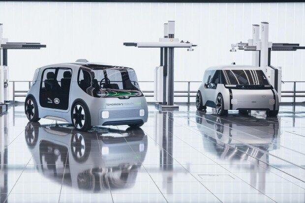 Беспилотный электромобиль Project Vector