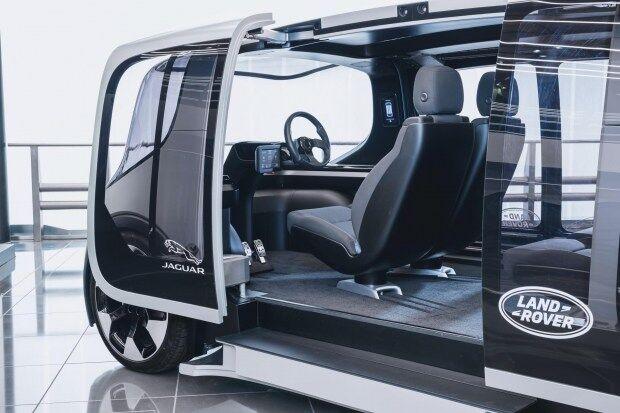 В Европе показали беспилотный электромобиль нового типа Project Vector