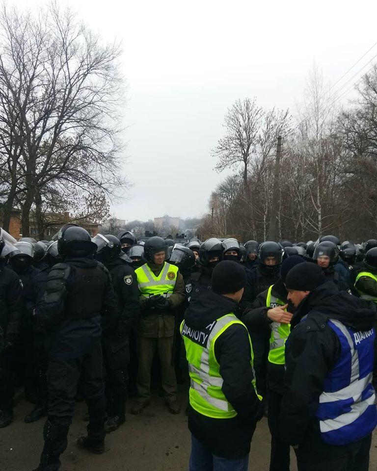 Протести на Полтавщині