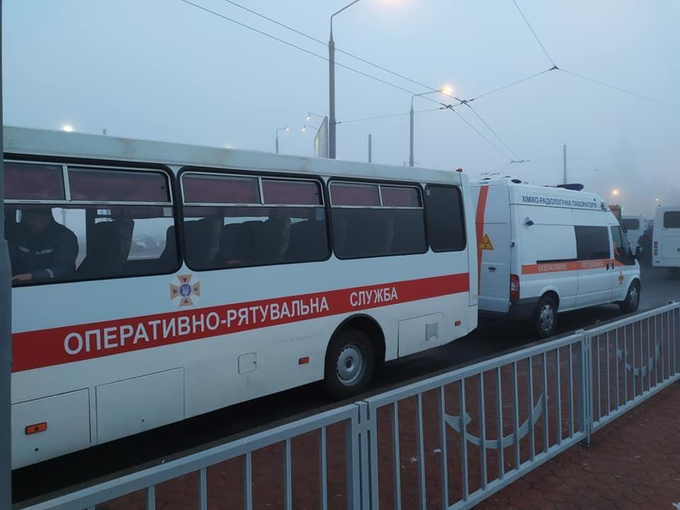 Підготовка до зустрічі евакуйованих із Уханя українців