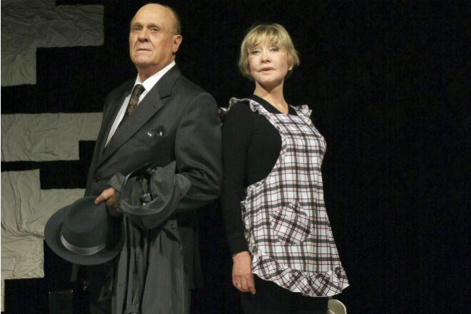 Вера Алентова и ее муж Владимир Меньшов в театре