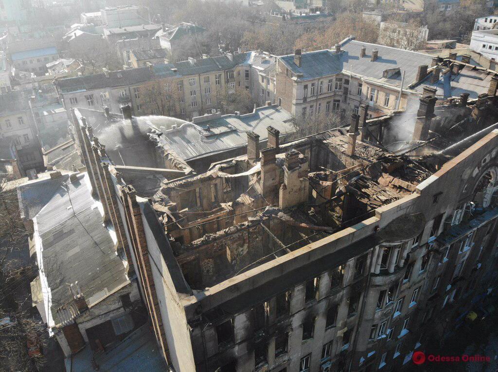 В Одессе отчитались о выплатах жертвам смертельного пожара в колледже