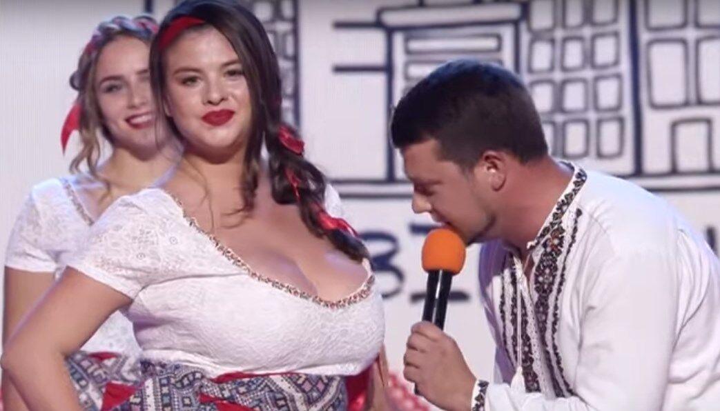 Гуменюк запам'ятався жартами про розмір жіночих грудей