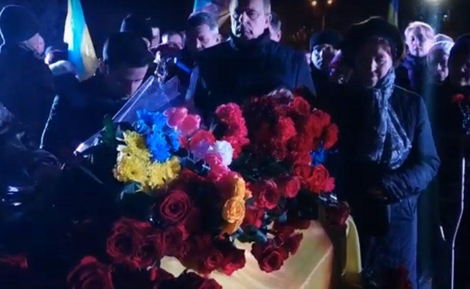 Прийняв на себе вогонь 18 лютого: в Полтаві попрощалися з бійцем ВСУ