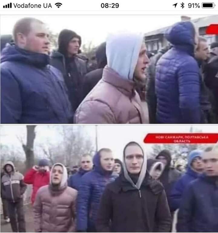 Журналист уличил завезенных в Новые Санжары протестующих