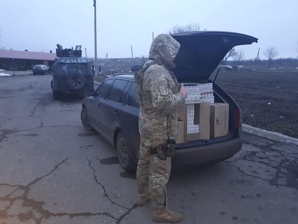 В Луганской области задержана партия контрабанды