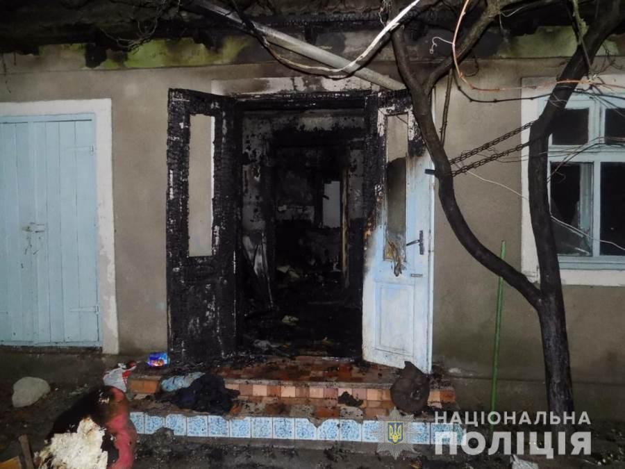 На Одесщине пожарные спасли малыша из смертельного пожара