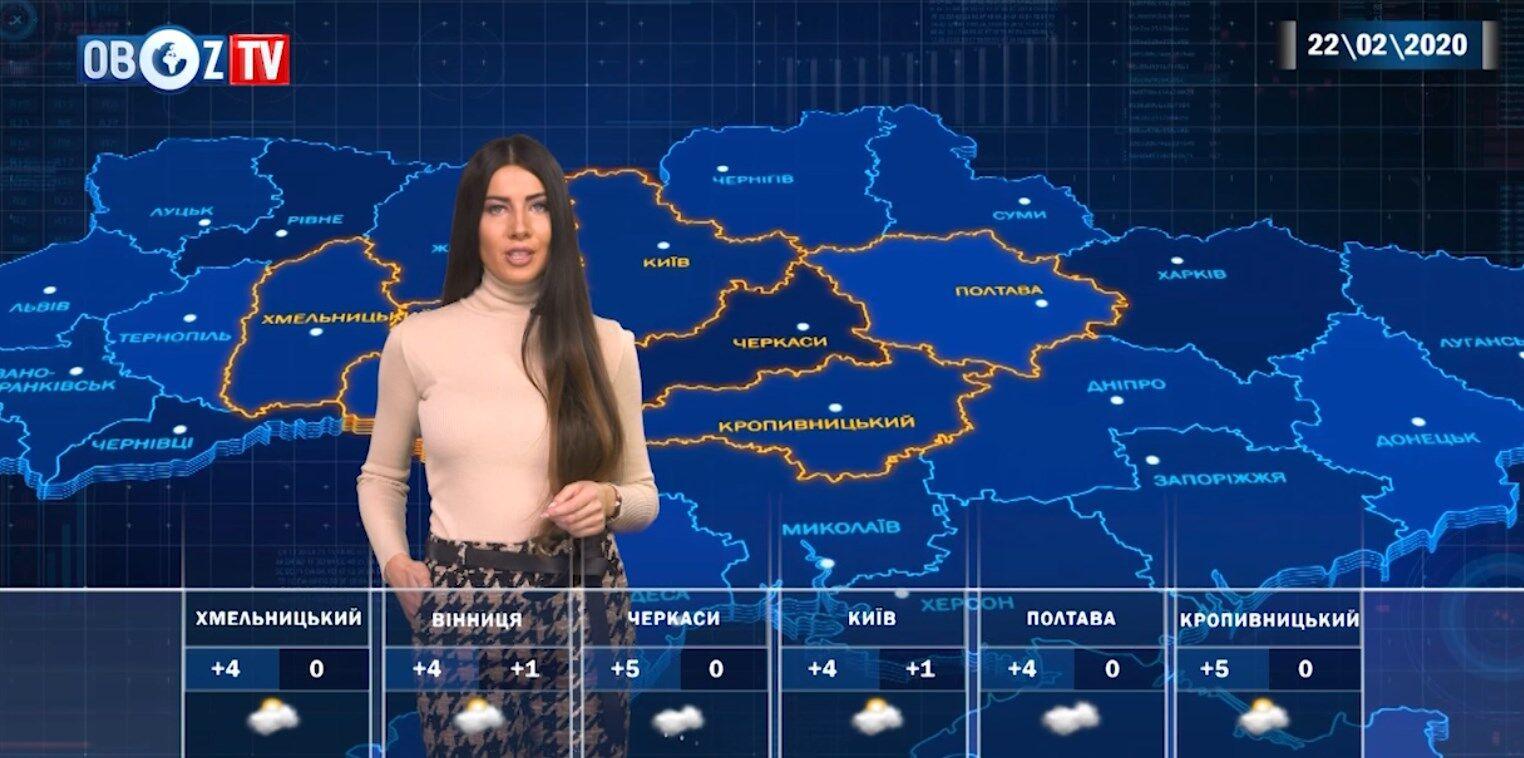 Погіршення погоди в Україні: прогноз на 22 лютого від ObozTV