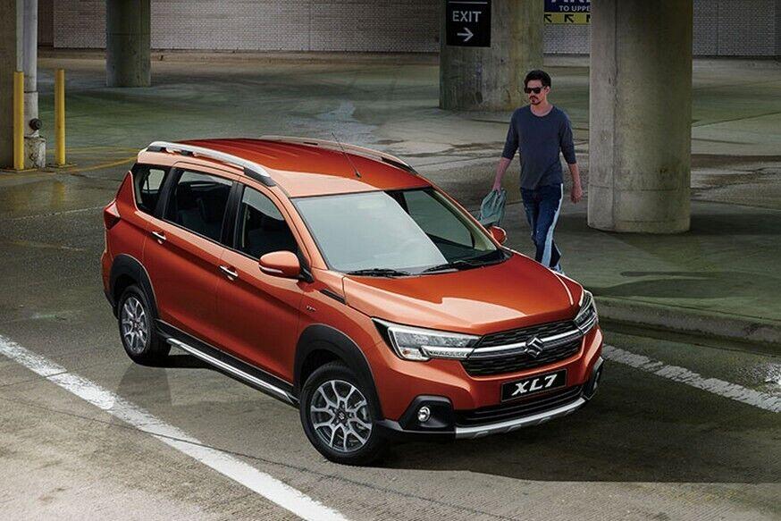 Потенциальный бестселлер – 7-местный кроссовер Suzuki XL7