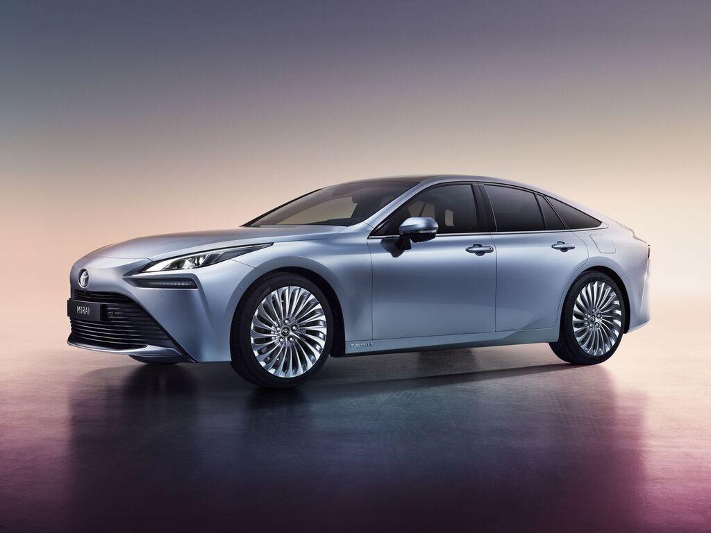 Toyota вже показала друге покоління свого водневого електромобіля Mirai. Запас ходу становить 650 км