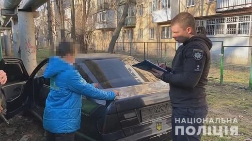 Хотів покататися: в Одесі хлопчик викрав авто і заснув