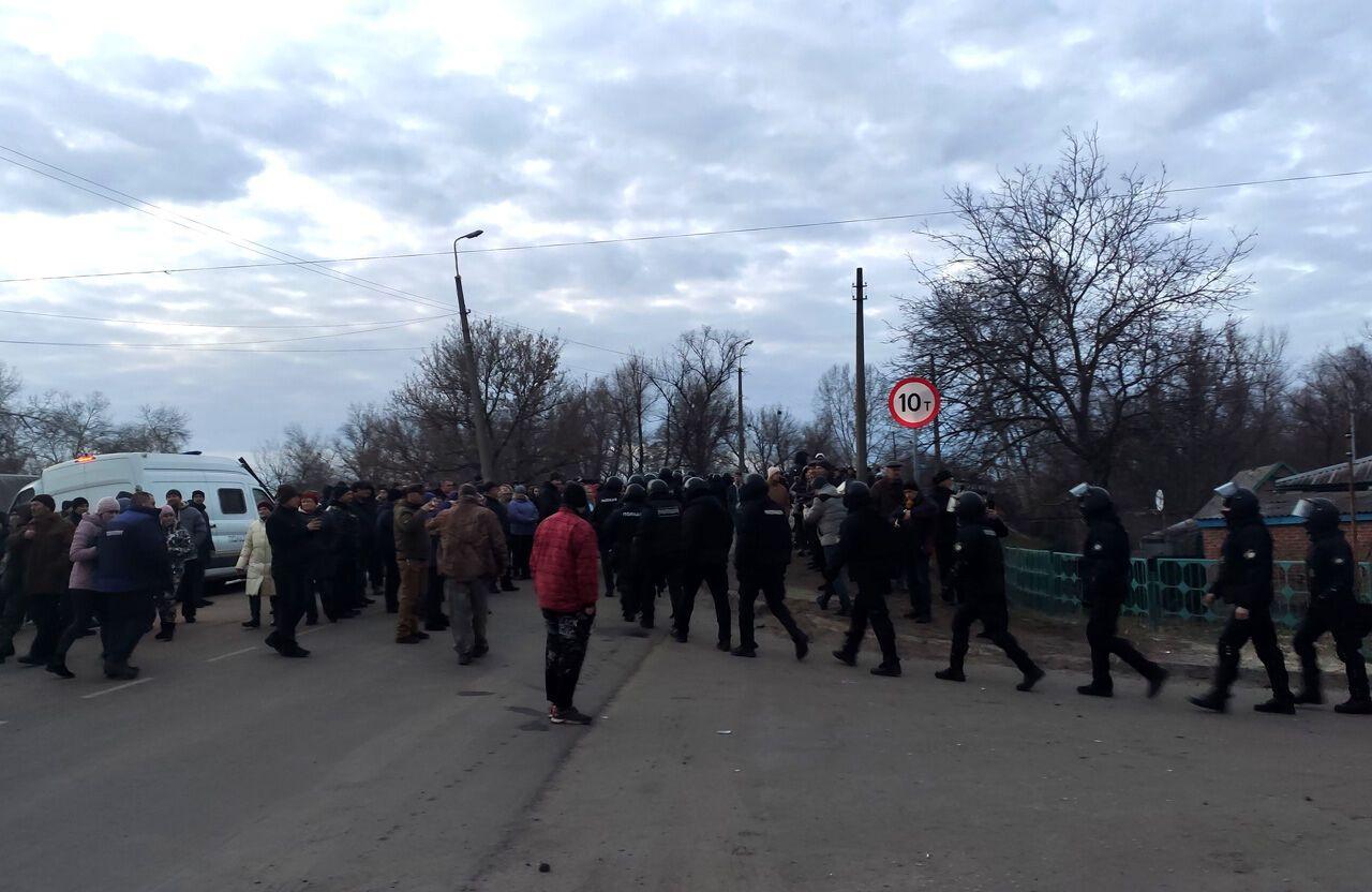 Українцям нагадали, що протестували не тільки в Нових Санжарах, а й в інших регіонах країни