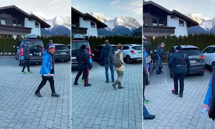 Полиция устроила облаву на сборную России по биатлону