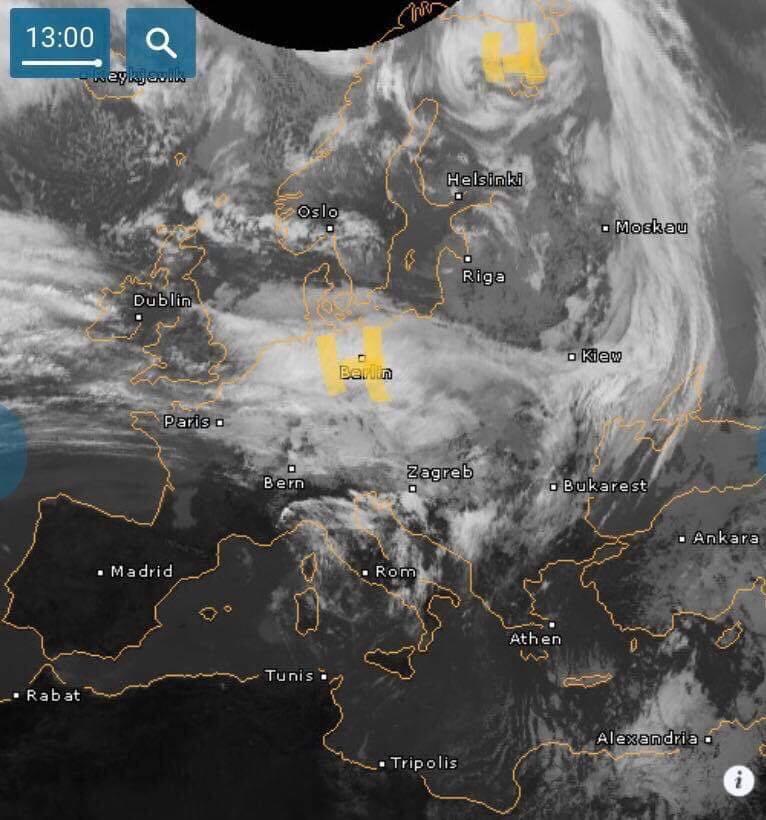 Циклон Юлия нанесет мощный удар по Украине