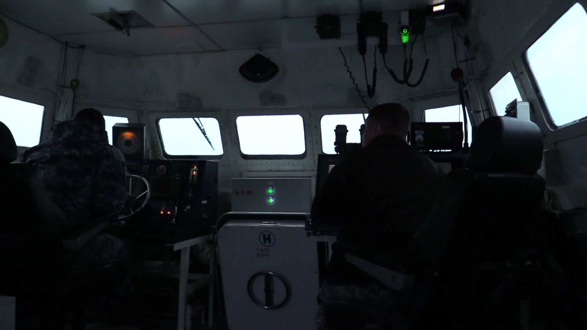 Стрельбы катеров ВМС в Азовском море
