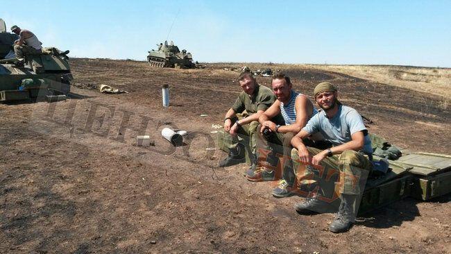 """""""Нони"""" """"Єрмака"""". Липень 2014 року, Луганська область. Підполковник ГРУ в центрі"""