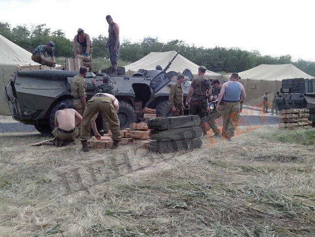Формирование группы в Ростове перед заходом в Украину. Начало июня 2014 года
