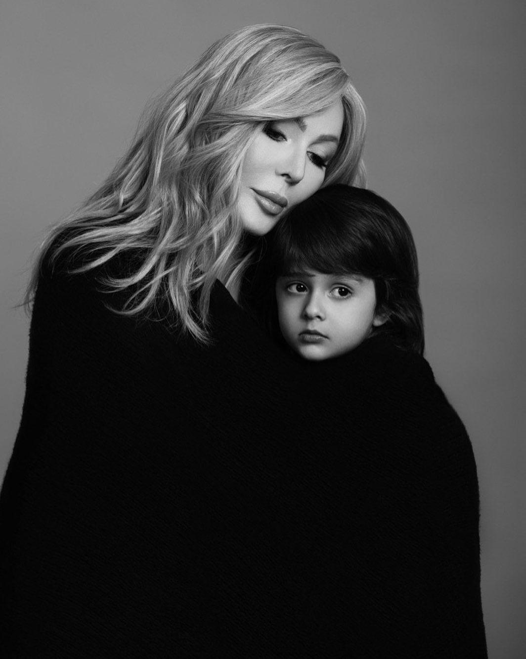 Ірина Білик із сином Табрізом