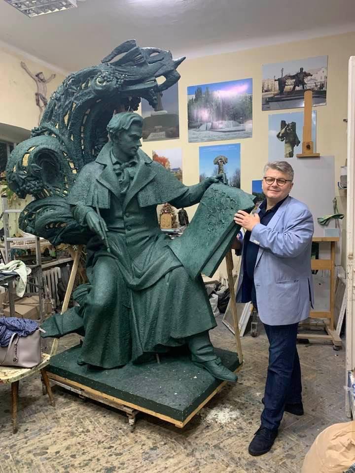 Пам'ятник Шевченку для Флоренції майже готовий