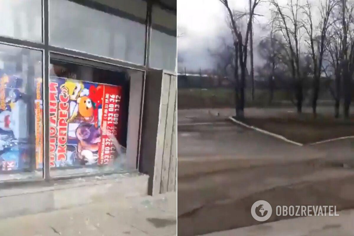 """Терористи """"ЛНР"""" розбомбили околиці Луганська"""