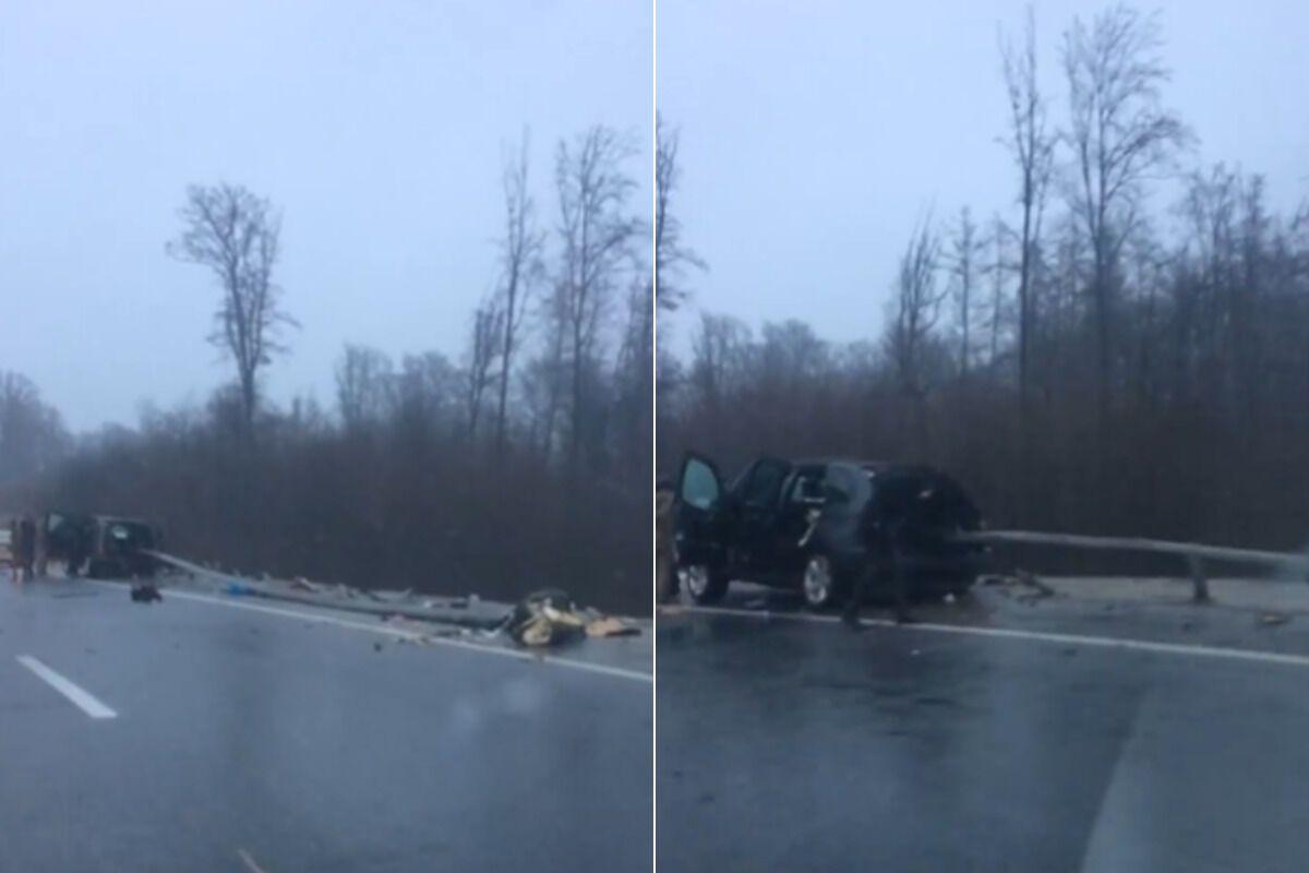 ДТП на трассе Киев – Чоп