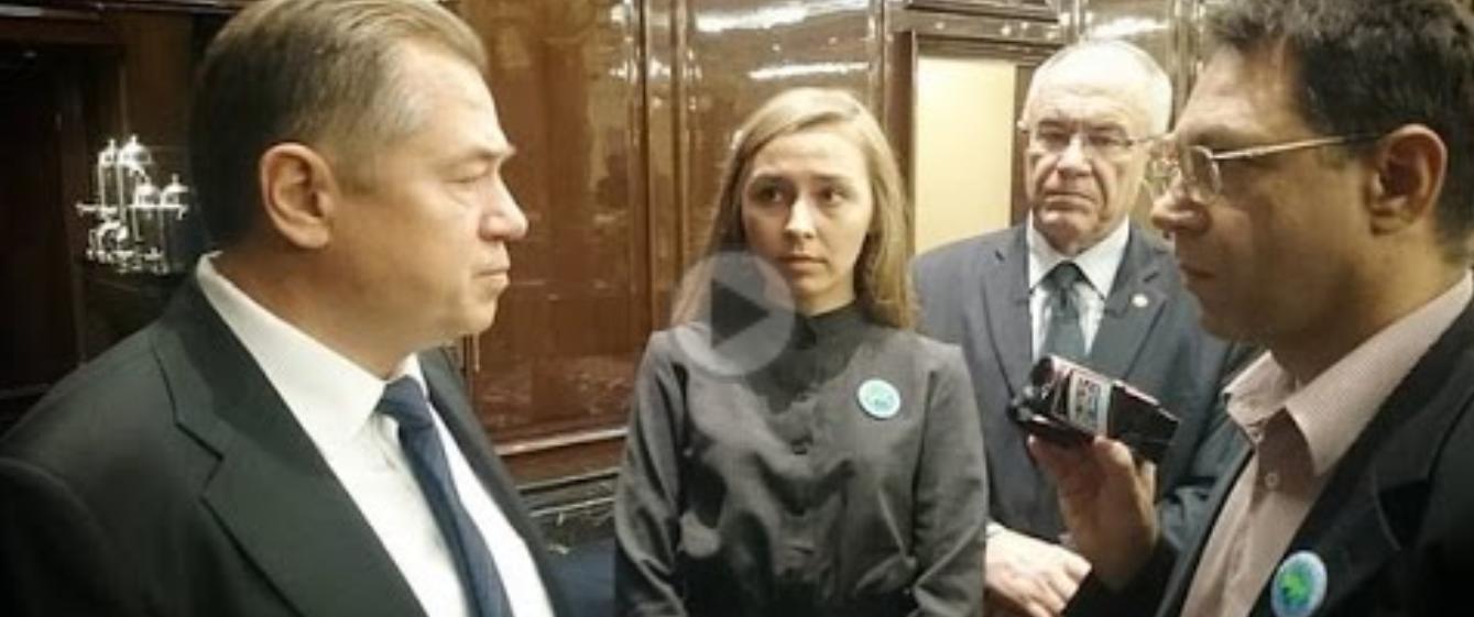 Як партію Анатолія Шарія очолила новороска-сталіністка
