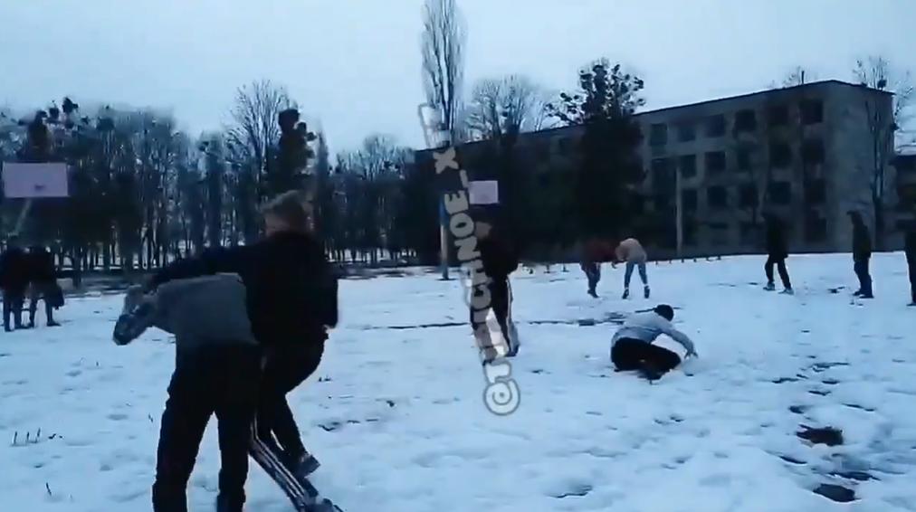 Бійка між школярами в Харкові